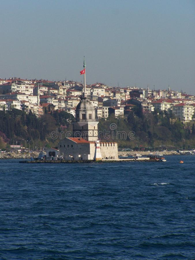 Ä°stanbul miasto blisko Marmara morza Turcja zdjęcie stock