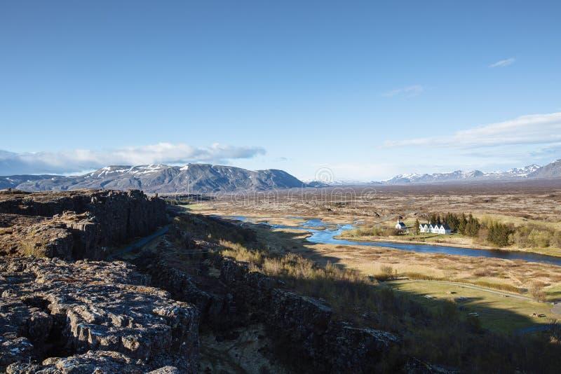 Þingvellir, Islandia fotos de archivo libres de regalías
