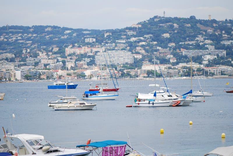ÃŽle sainte-Marguerite, όχημα, θάλασσα, λιμάνι, μαρίνα στοκ εικόνες