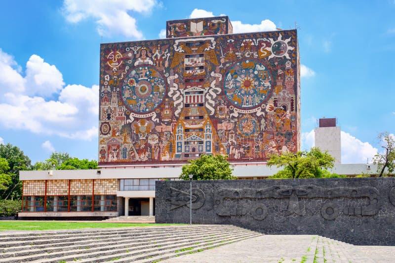 """Ã """"национальный автономный университет Мексики стоковое фото rf"""