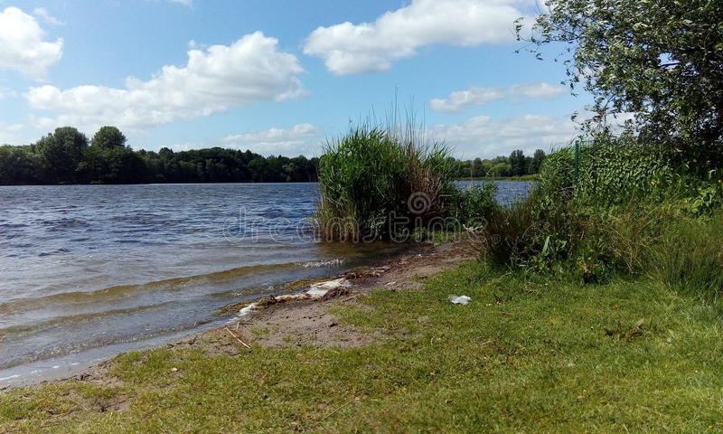Ã-jendorfer sjö arkivbild