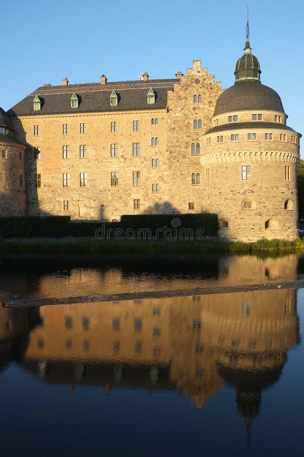 Örebro Castle stock image