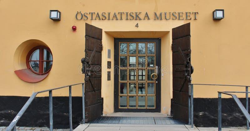 Ã-Stasiatiska museet, Stockholm royalty-vrije stock foto