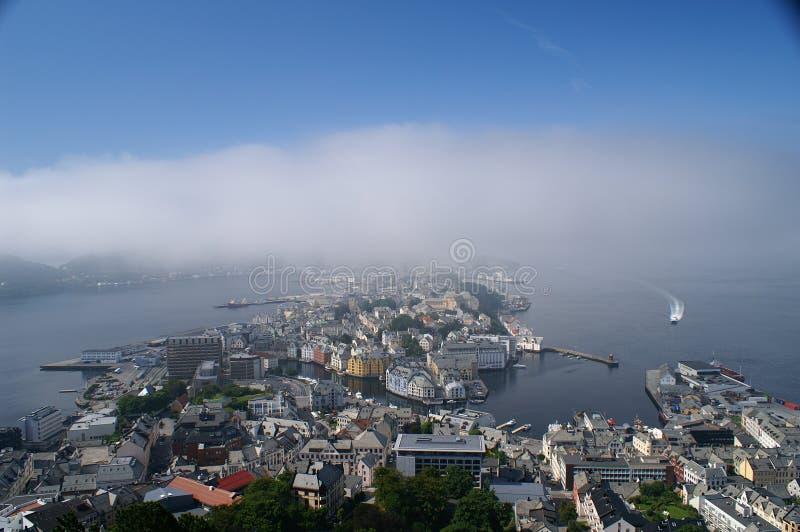 Ãlesund, Norvège image stock