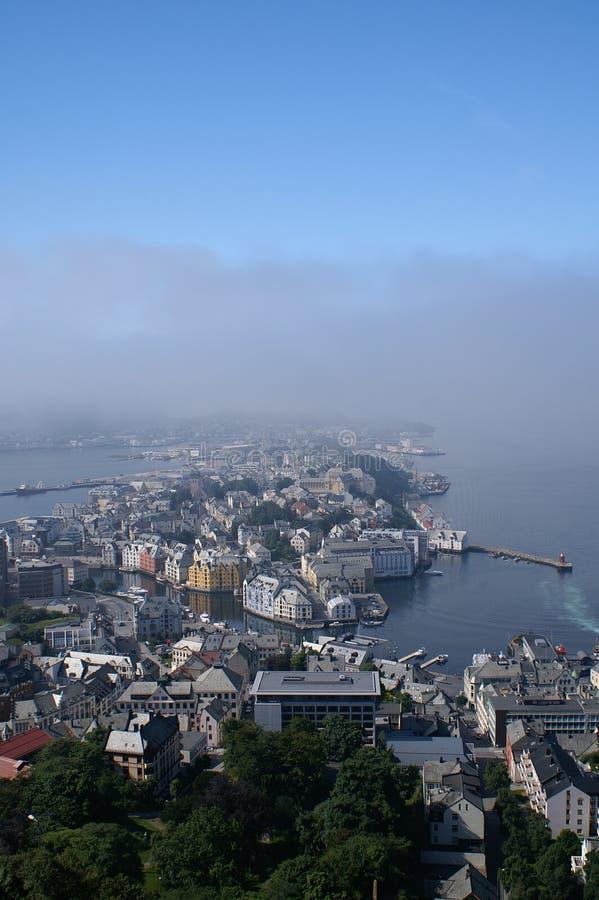 Ãlesund, Norvegia fotografia stock