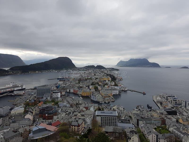 Ãlesund, Norvegia immagini stock libere da diritti
