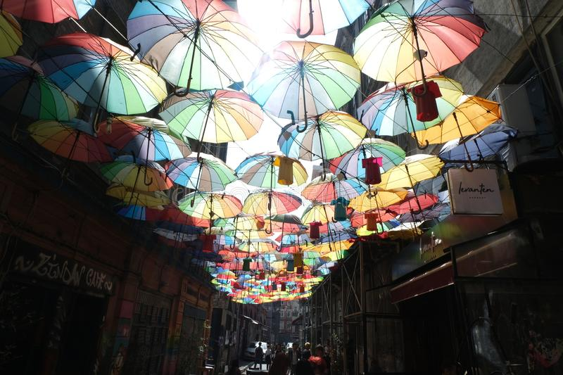 Ä°stanbul,土耳其- Karakoy 免版税库存图片