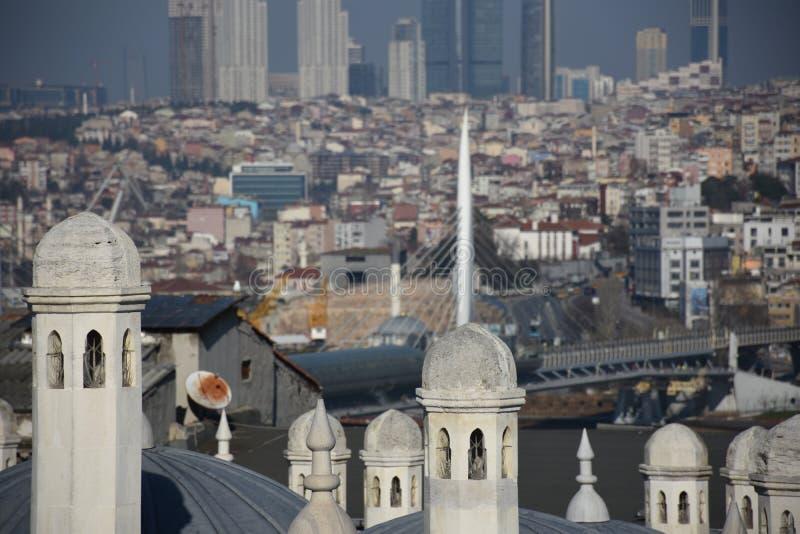 Ä°stanbul, die Türkei stockfotografie