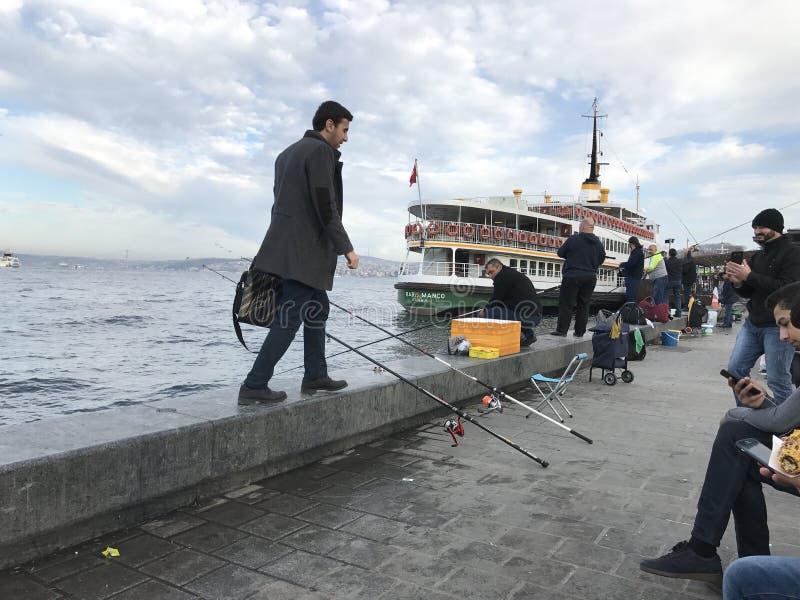 İstanbul Kadıköy Sahil fotografia de stock royalty free