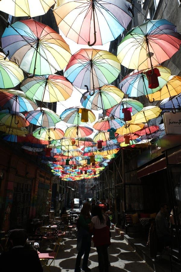 Ä°stanbul, Turkije - Karakoy stock foto