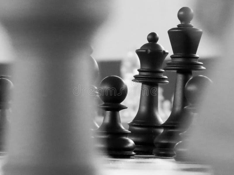 为挑战和比赛设置的棋形象 向量例证