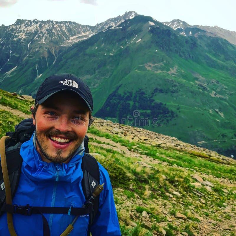 上升的登上 Elbrus俄罗斯 免版税库存图片