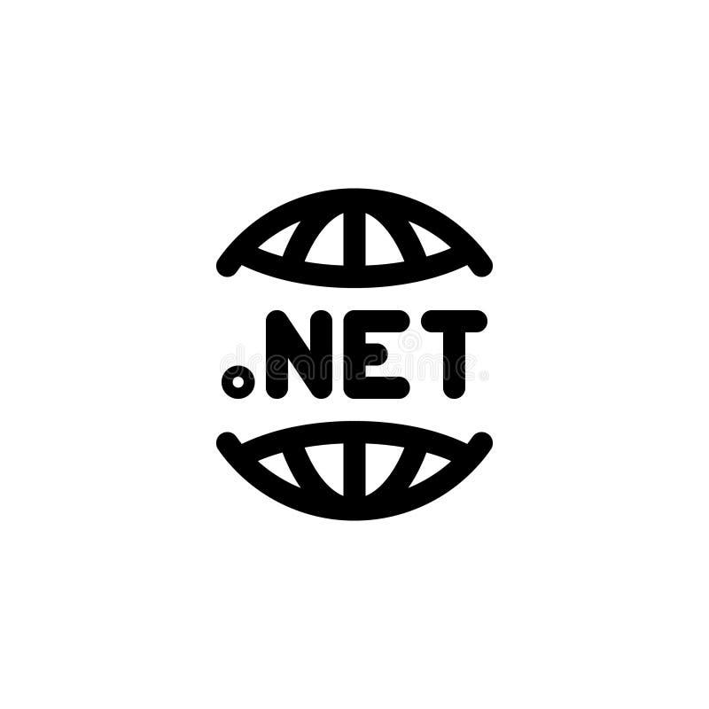 与线型传染媒介例证的Dotnet象 向量例证