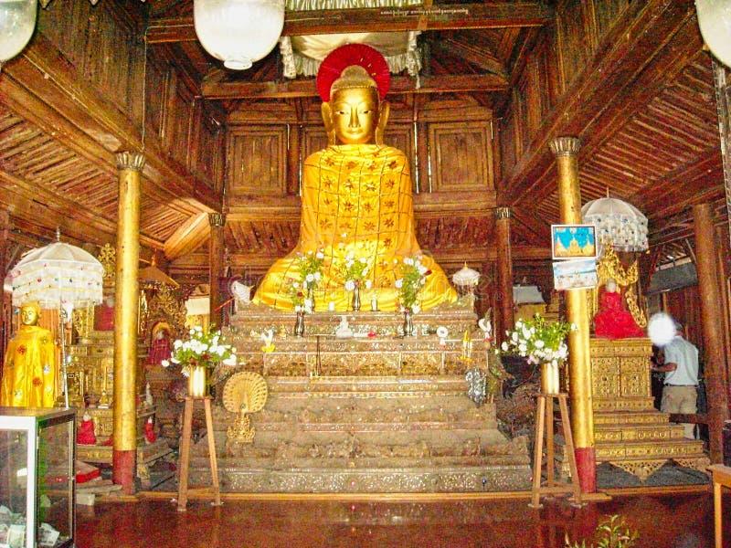 一个菩萨雕象在越南 库存照片