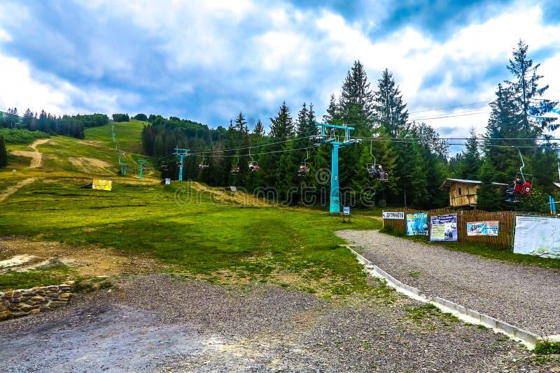 乌克兰喀尔巴阡山脉10 库存照片