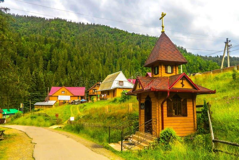 乌克兰喀尔巴阡山脉26 库存图片