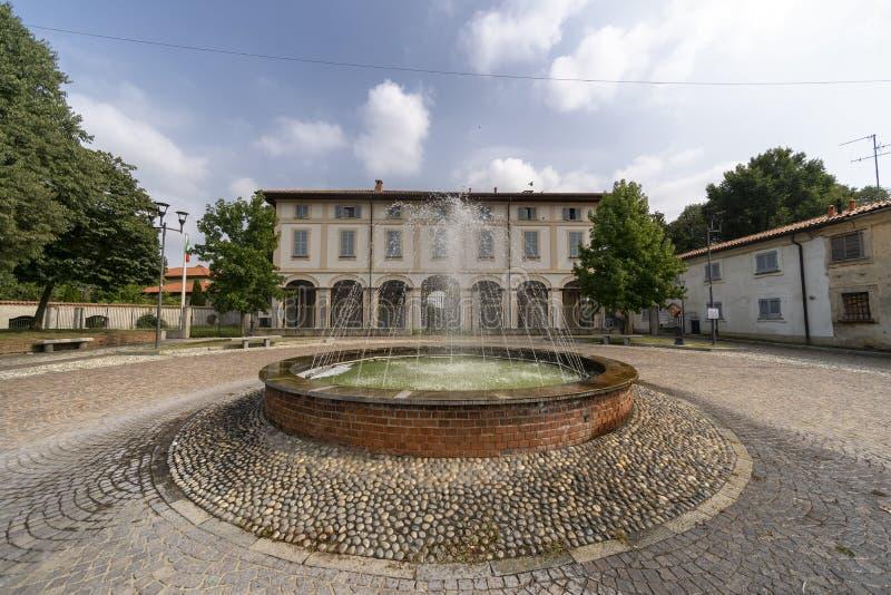 乌斯马泰韦拉泰,历史的别墅Scaccabarozzi 免版税库存图片
