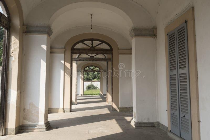 乌斯马泰韦拉泰,历史的别墅Scaccabarozzi 图库摄影