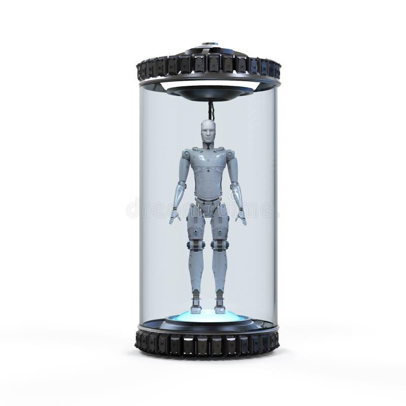 人工智能发展概念 向量例证