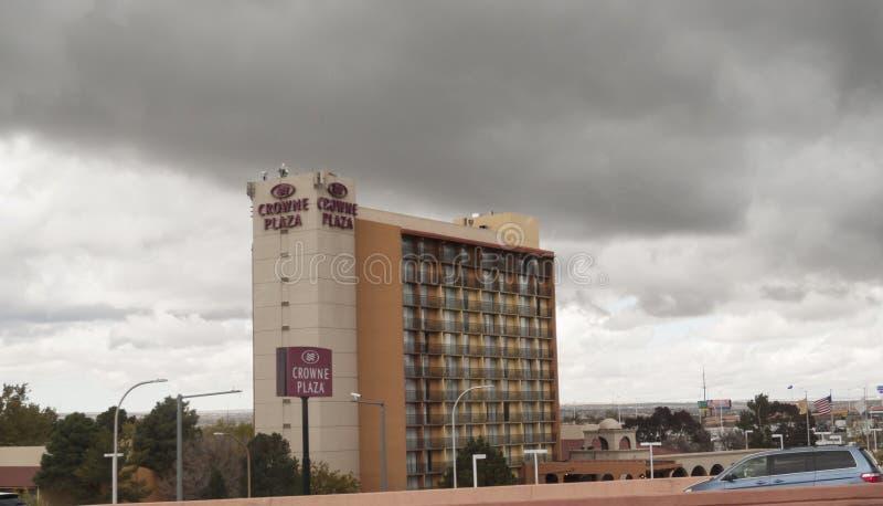 亚伯科基,新墨西哥,皇冠酒店 库存图片