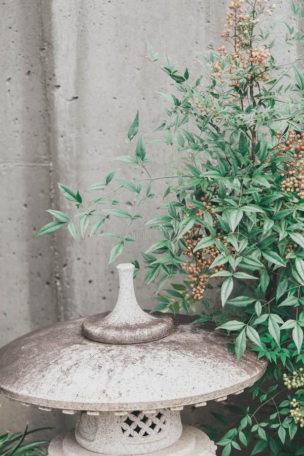 亚洲庭院塔 库存照片