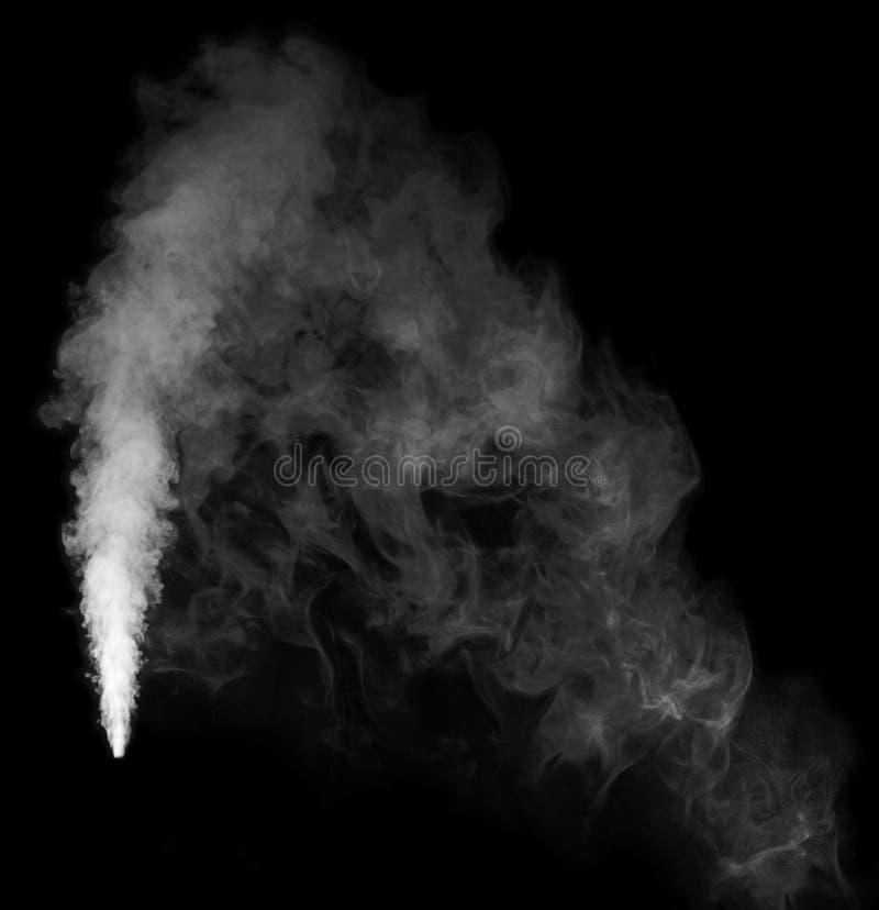 从润湿器的蒸汽 库存图片