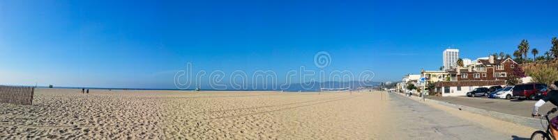 从迈阿密海滩的全景图片 免版税库存图片