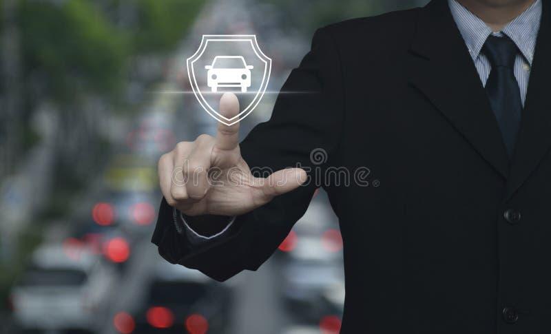 企业汽车保险概念 向量例证