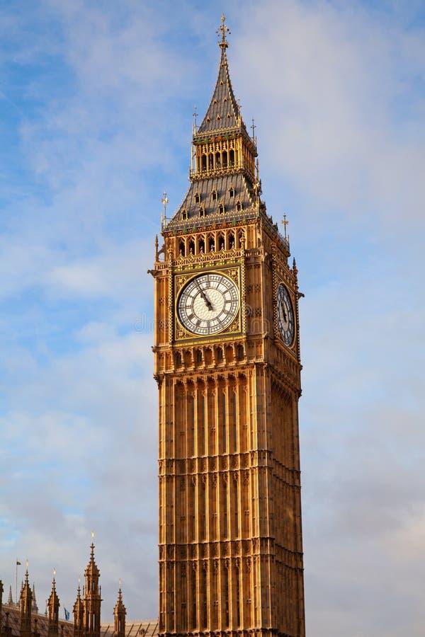 伦敦 本大钟塔 库存图片
