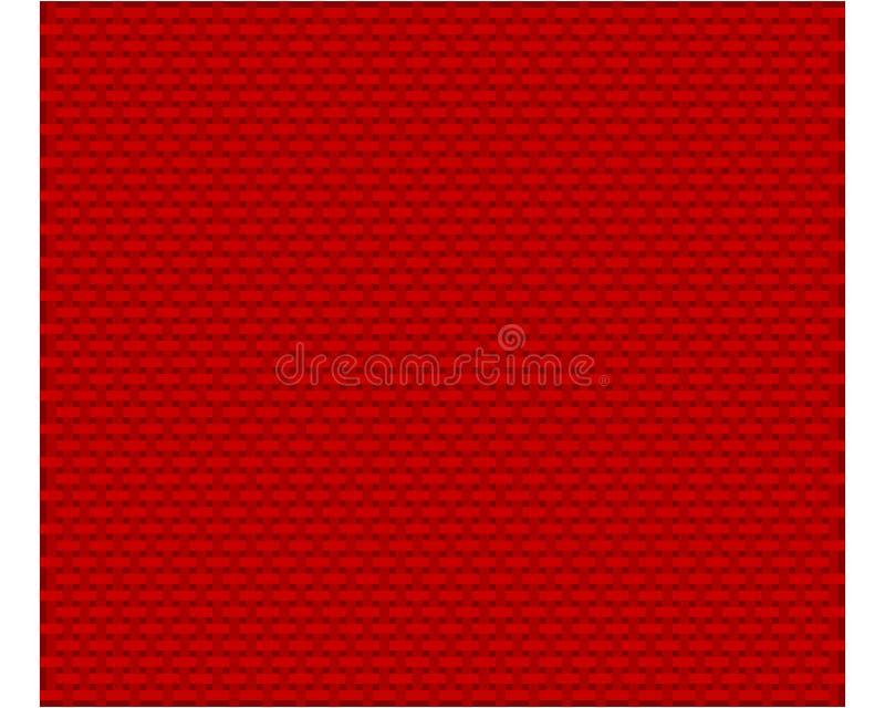 作为背景的粗糙的捕捉的布料 向量例证