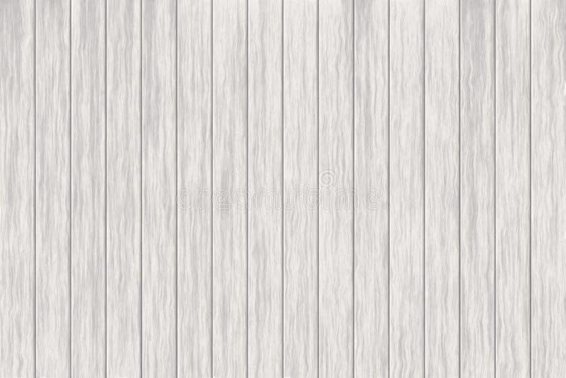 例证木背景,老白色木纹理的表面,顶视图木头铣板 向量例证