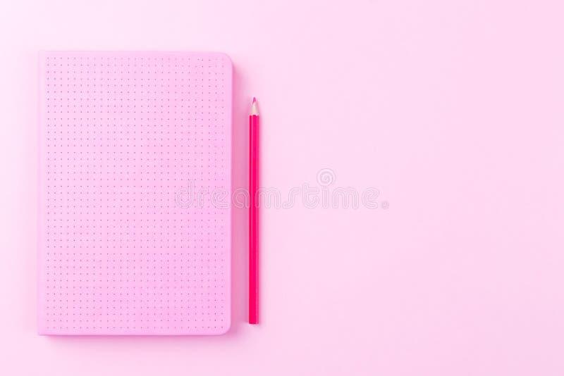 例证记事本铅笔向量 免版税库存图片