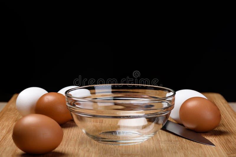 Ägg för omelett royaltyfri foto