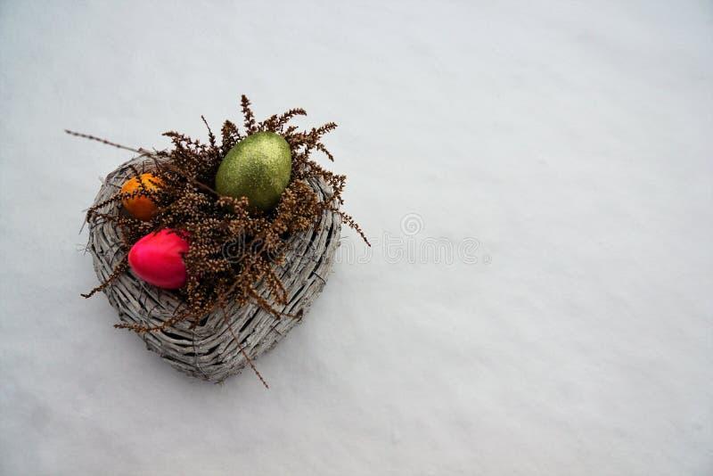 Ägg för påsk arkivbild