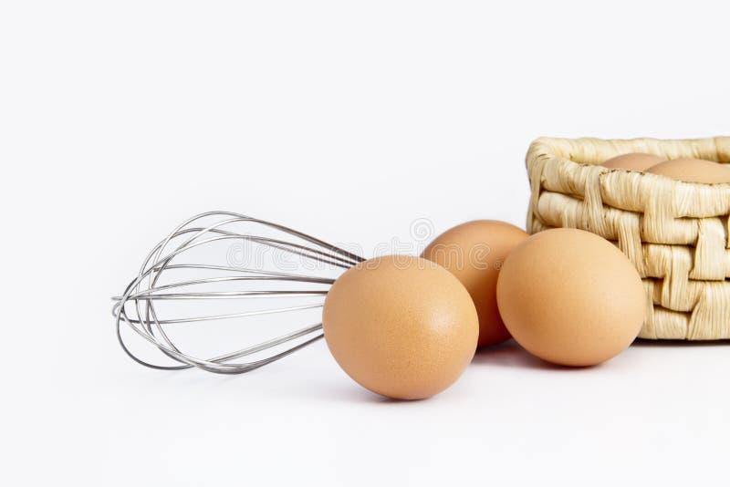 Ägg med uppståndelsehjälpmedlet royaltyfri foto