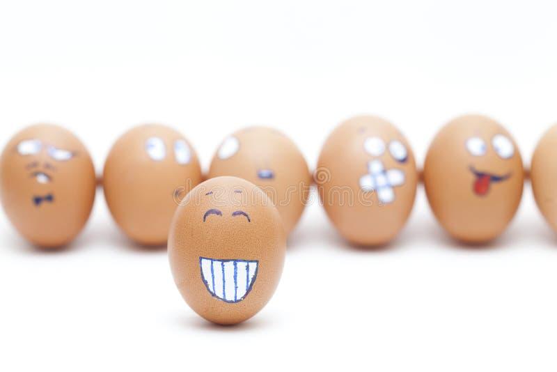 Äggframsida arkivfoto
