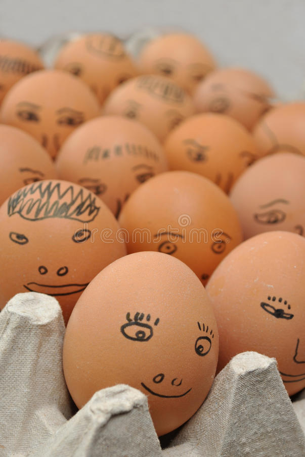 äggframsidor fotografering för bildbyråer