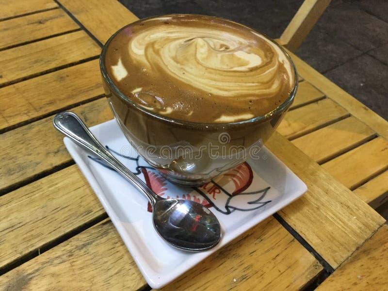 Äggkaffe i Hanoi royaltyfria foton
