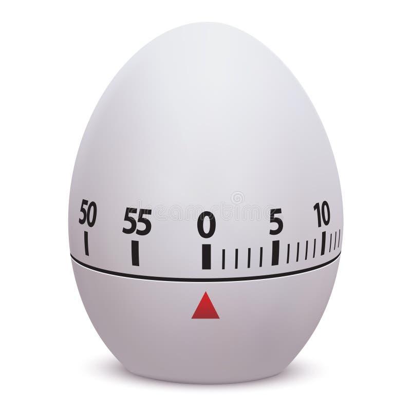 äggklocka vektor illustrationer