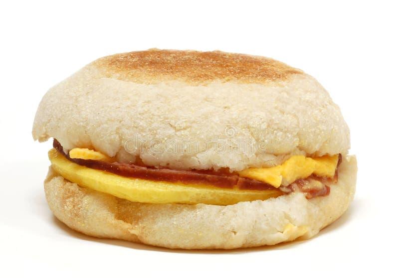 äggsmörgås arkivfoton