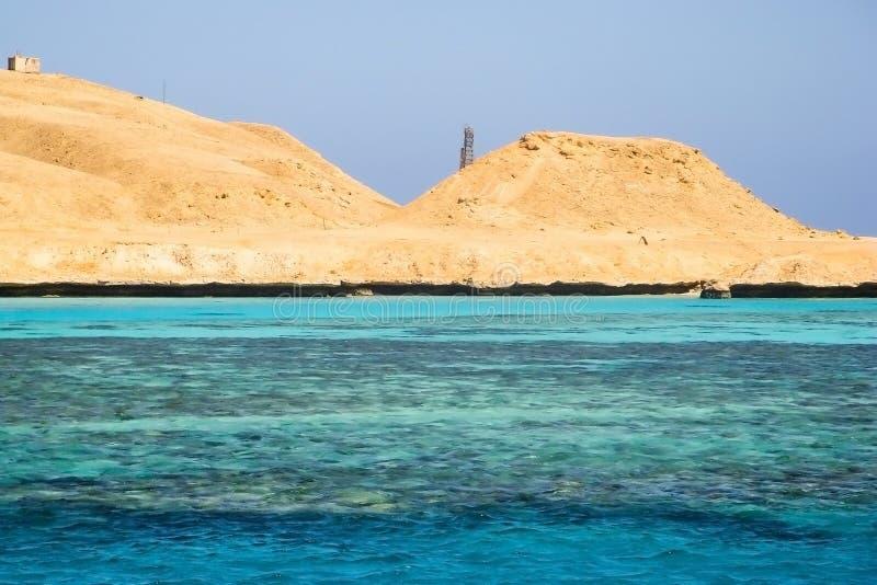 Ägypten die Wüste lizenzfreies stockfoto