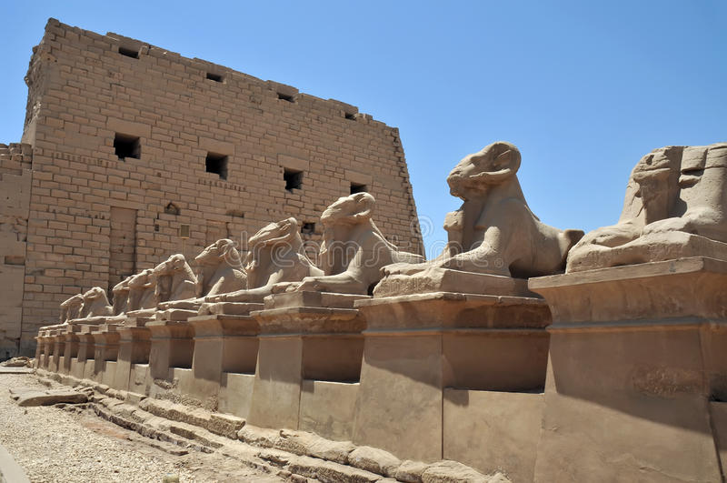 Ägypten - Karnak stockbilder