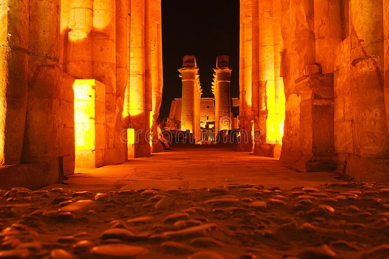 Ägypten-Luxor lizenzfreie stockfotografie