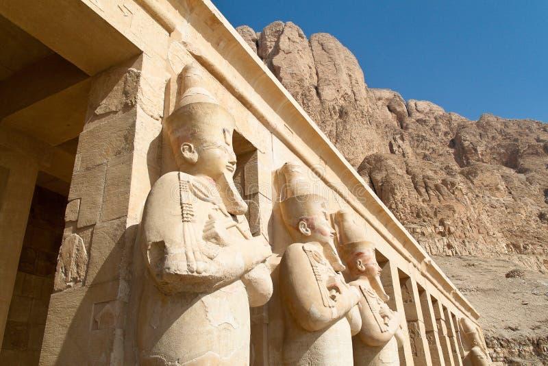 Ägypten, WestThebes, lizenzfreie stockfotos