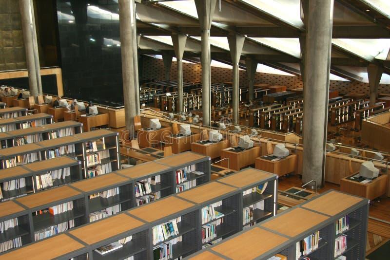 Ägyptens Alexandria-Bibliothek stockfotografie