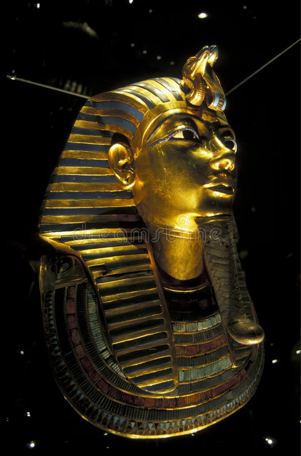 ÄGYPTER-MUSEUM AFRIKAS ÄGYPTEN KAIRO lizenzfreie stockbilder