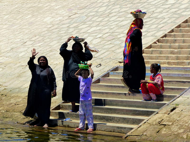 Ägyptische Leute stockbilder
