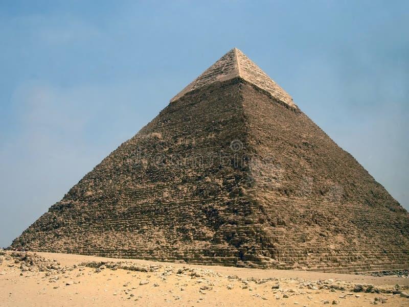 Ägyptische Pyramide lizenzfreies stockfoto