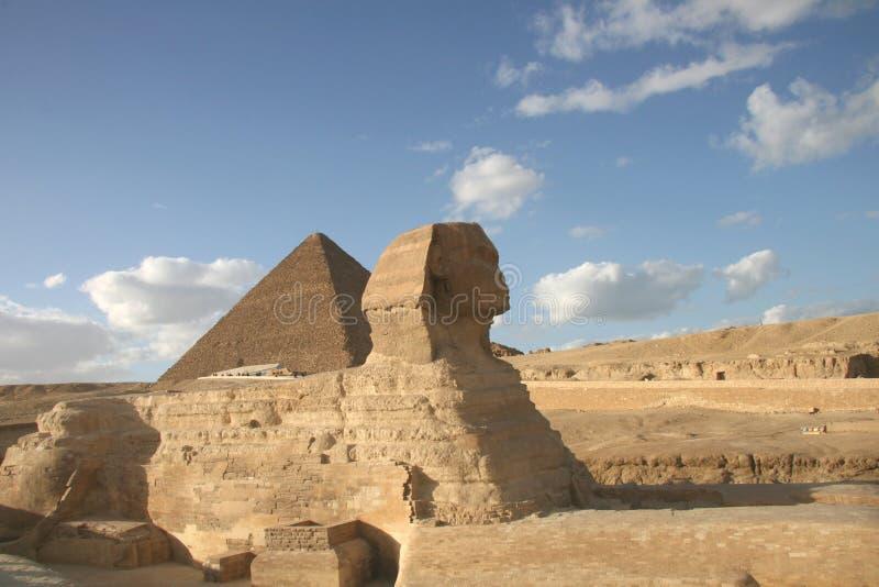 Ägyptische Sphinx lizenzfreies stockfoto