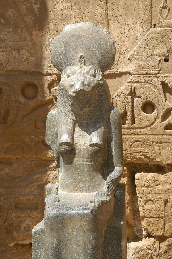 Ägyptische Statue lizenzfreie stockfotografie